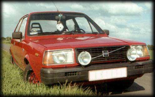 første bil i danmark